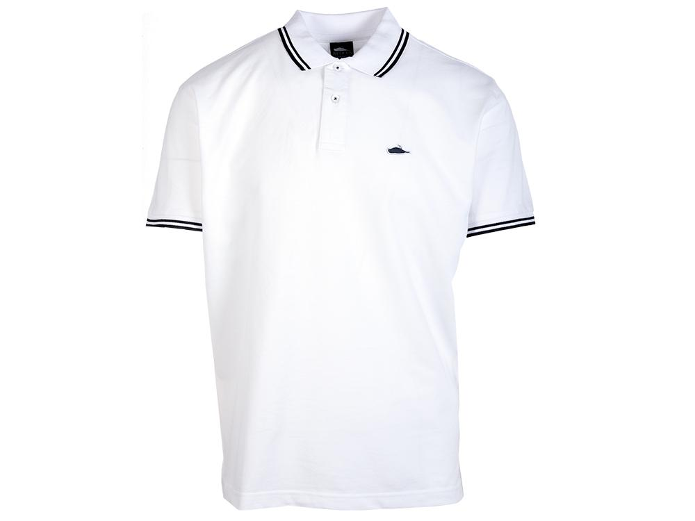 ATCS Classic Tipped Polo White / Black